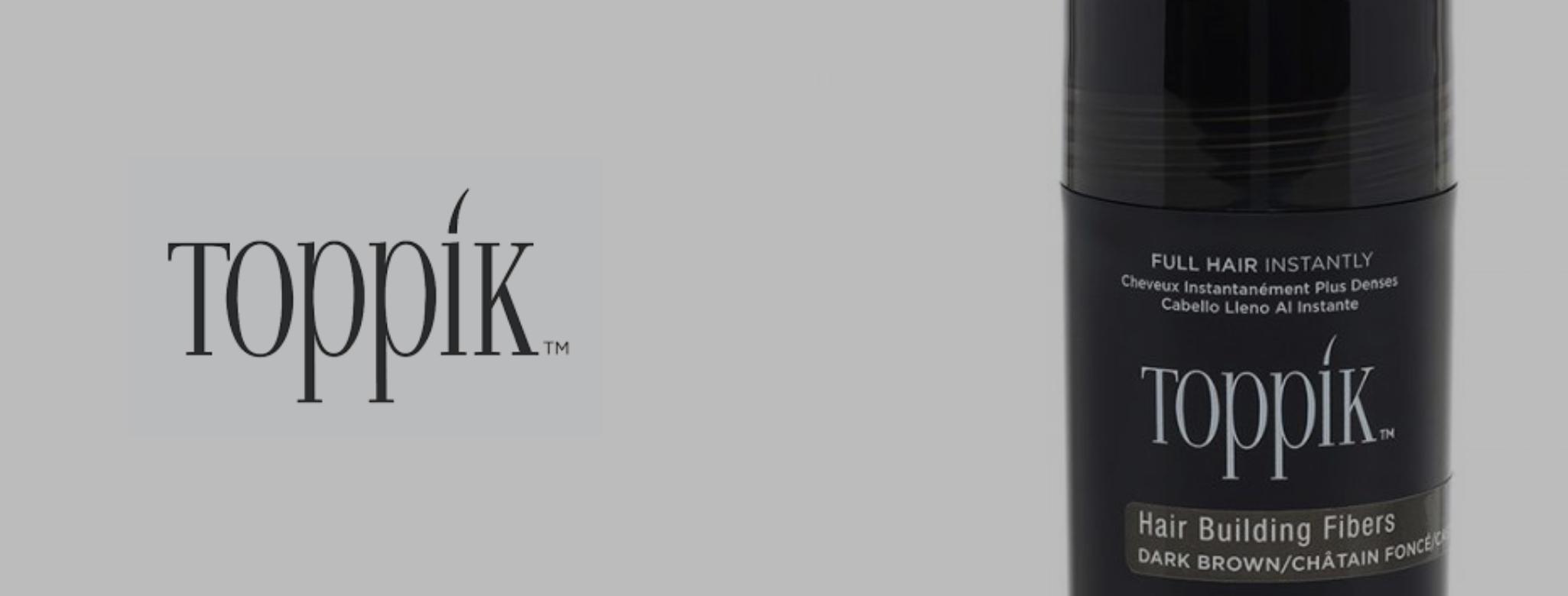 Toppik brand banner