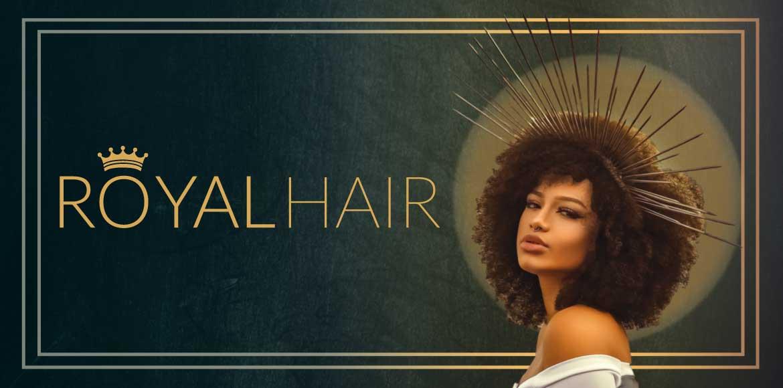 Royal hair banner til brand siden