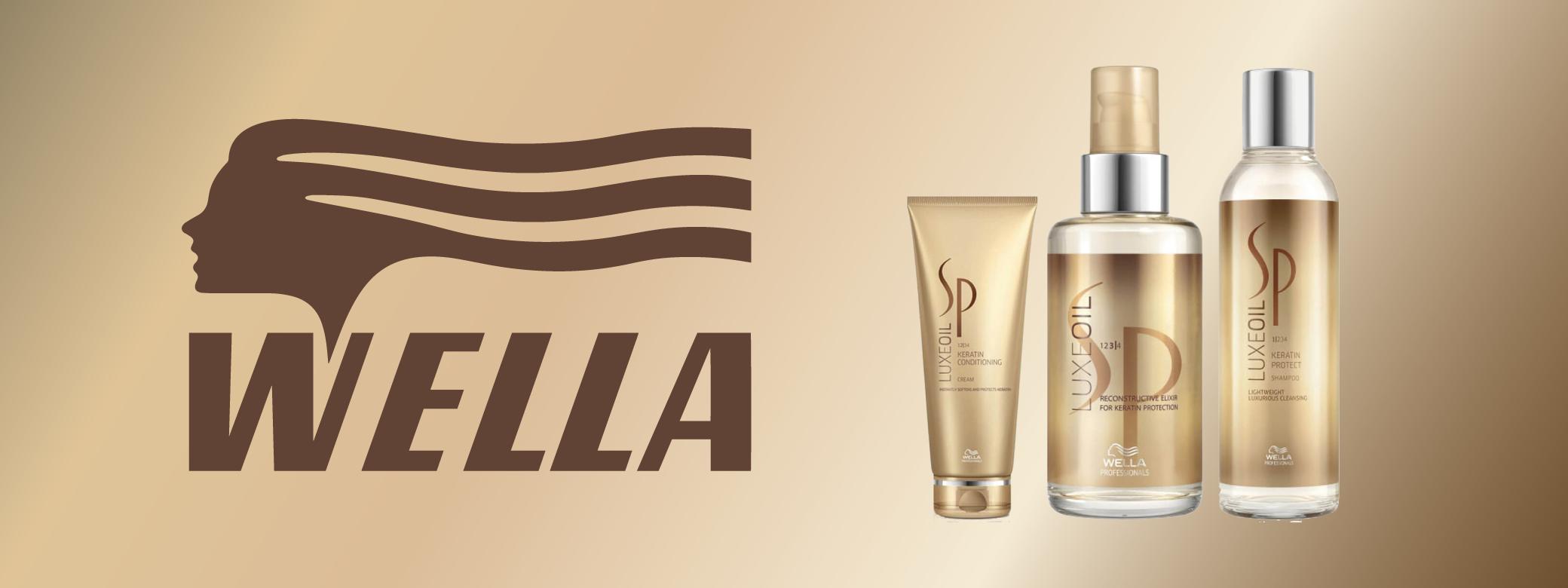 Wella brand banner