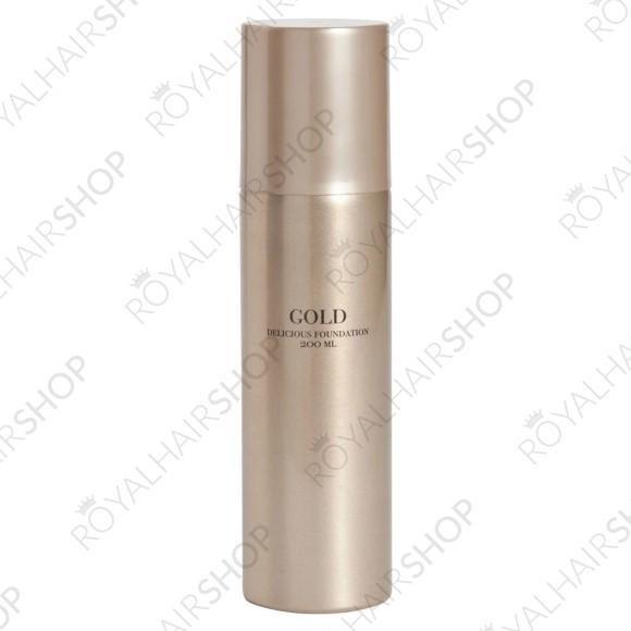 Gold Mousse til krøller, også kaldet en hårskum