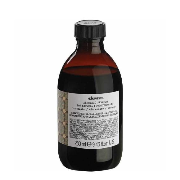 Davines Alchemic Chocolate shampoo til brunt og mørkt hår