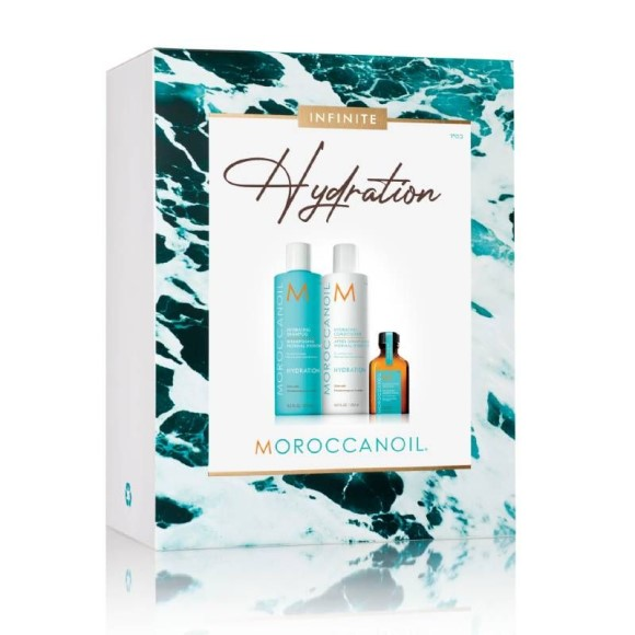 Moroccanoil Hydration kit med shampoo, conditioner og lille olie