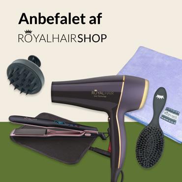 Anbefalet Af Royal Hair-Shop